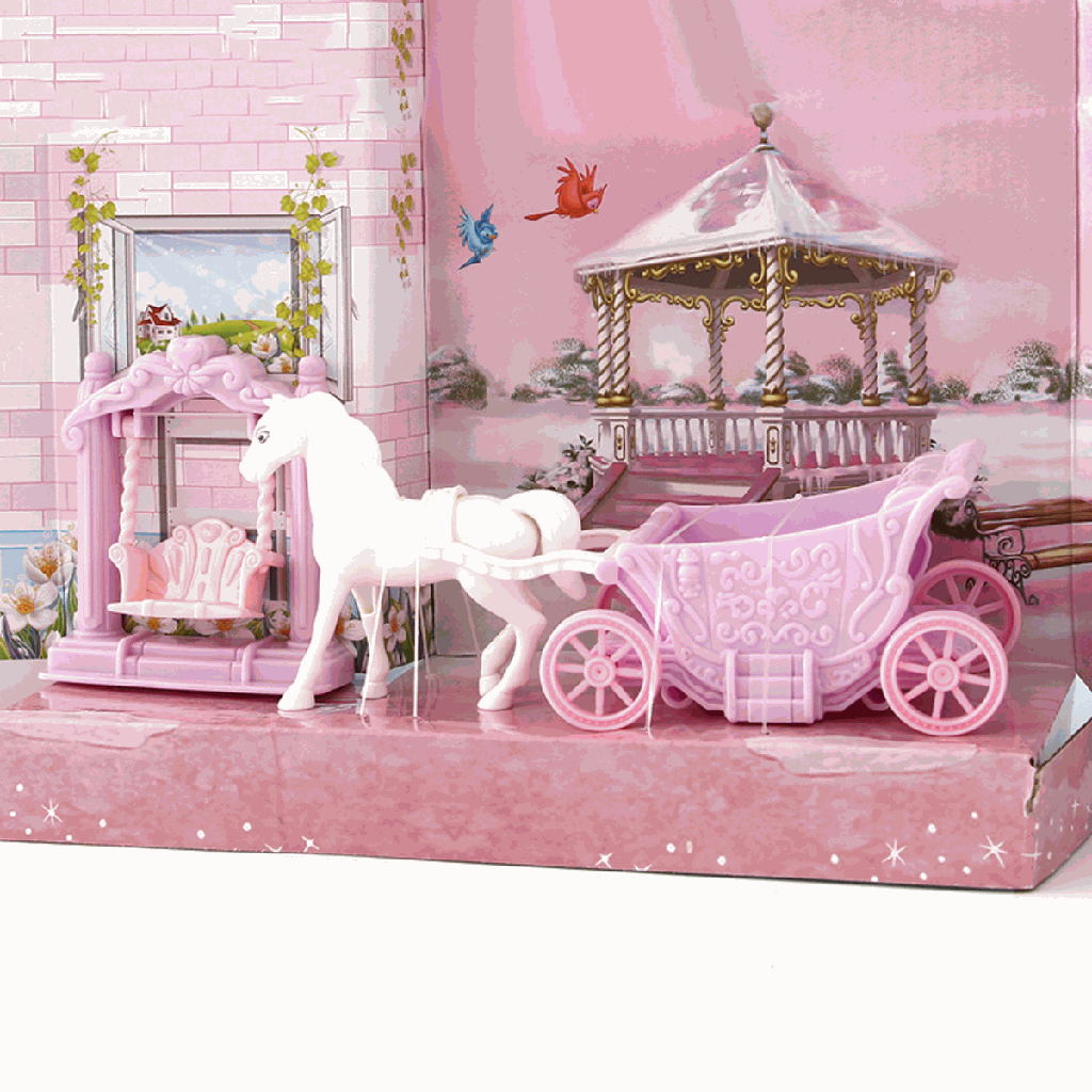 Carriage Outdoor Doll Furniture Toy Set (VC6003)