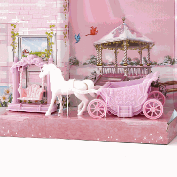 [XVTET02705] Carriage Outdoor Doll Furniture Toy Set (VC6003)