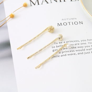 [XVFAHC00374] Classic Round Ball Bobby Pin Set