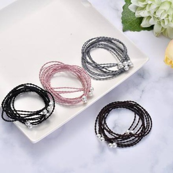Pearl Hair Rope (3 Pcs)