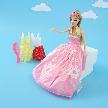 Princess Doll in Red Dress (JJ9904)
