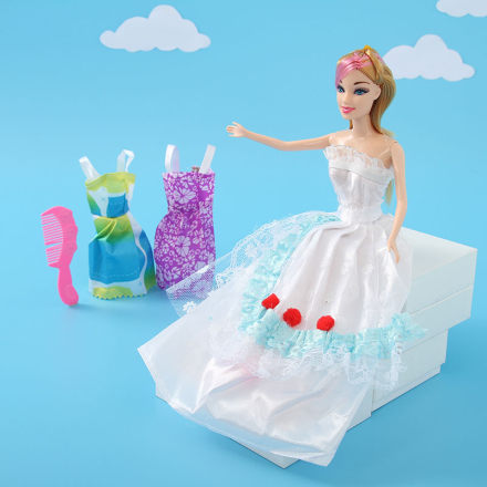 Princess Doll in White Dress (JJ9904)