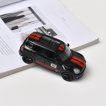 Pull-Back-and-Go Alloy SUV Car Toy with Sound (BMW MINI)