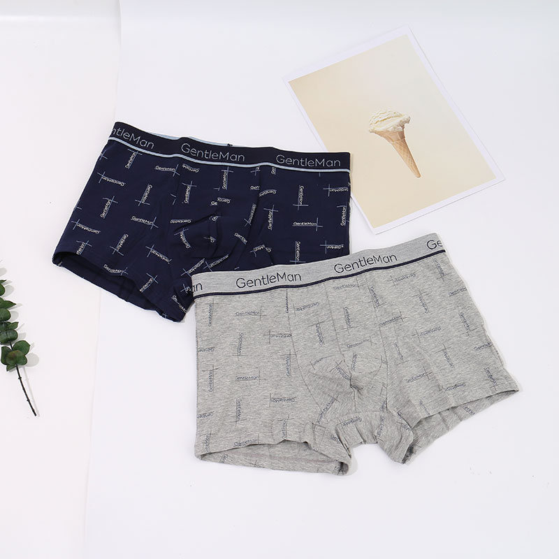 Refreshing Printed Boxer Briefs for Men (XL)