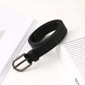 [XVSPB01512] Retro Style Cool Girl PU Belt for Women (Black)