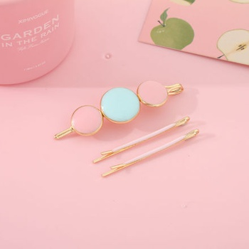Simple Style Colored Bobby Pin