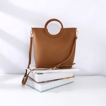 Simple Style Vogue Handbag for Women (Coffee)