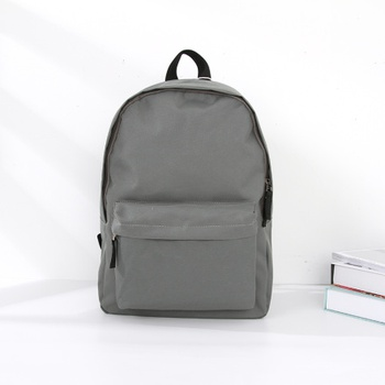 [XVBBP00035] Simple Style Vogue Lightweight Cloth Backpack (Gray)