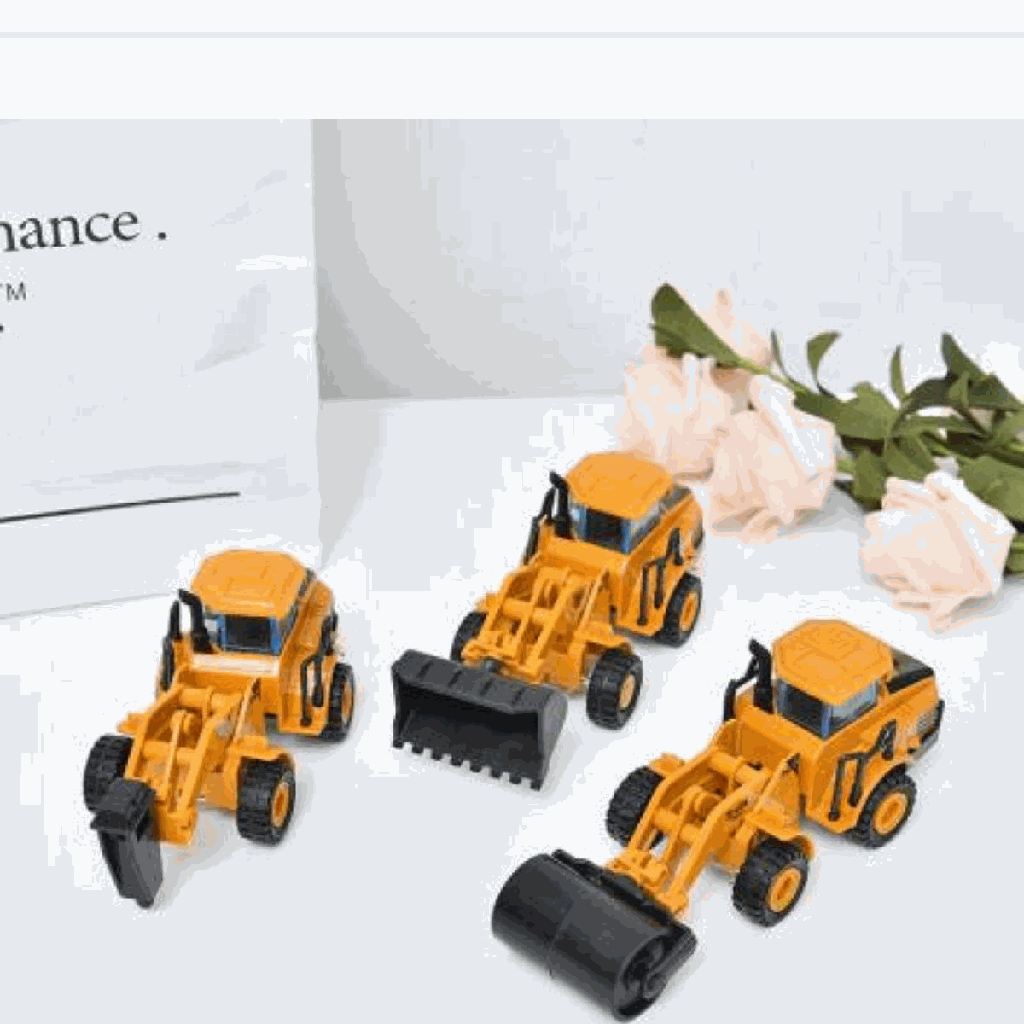 Construction Truck Toy 6-in-1 Set