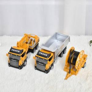 Construction Truck Toy Set (Big)