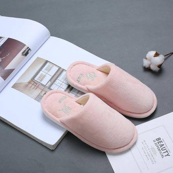 [XVSPCP01522] Creative Indoor Closed Toe Slipper for Children-Pink(32/34)