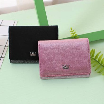 [XVBW00118] Crown Short Wallet for Women