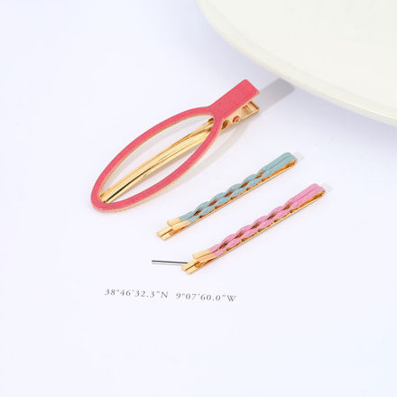 Dainty Hair Clip & Bobby Pin Set