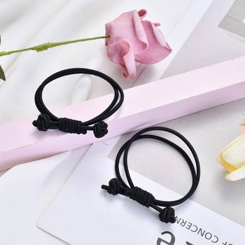 [XVFAHR00345] Exquisite Bowknot Hair Rope