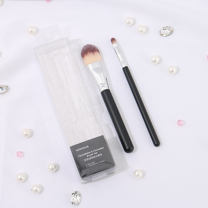 Foundation and Concealer Brush Set