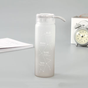 [XVHIC01138] IVY Constellation Glass Water Bottle (460ml/16.2oz)(Gray)