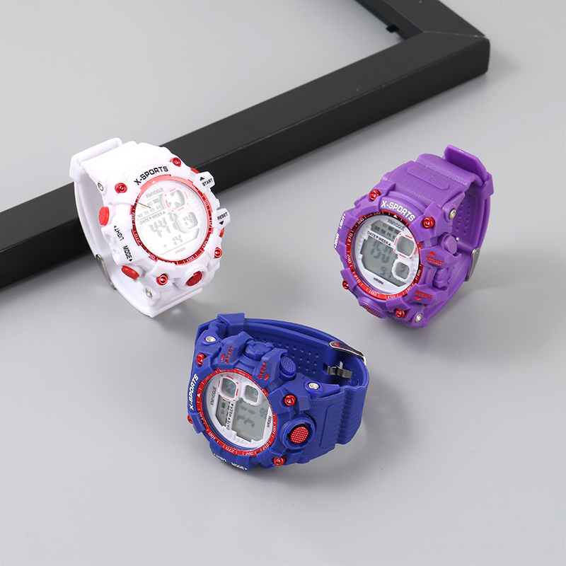 Jelly Color Electronic Sports Watch for Diving