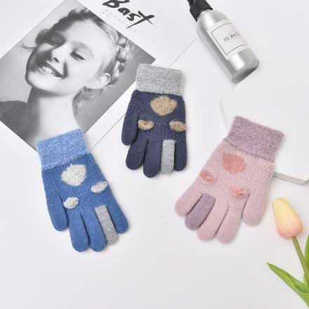 Knitted Gloves for Children