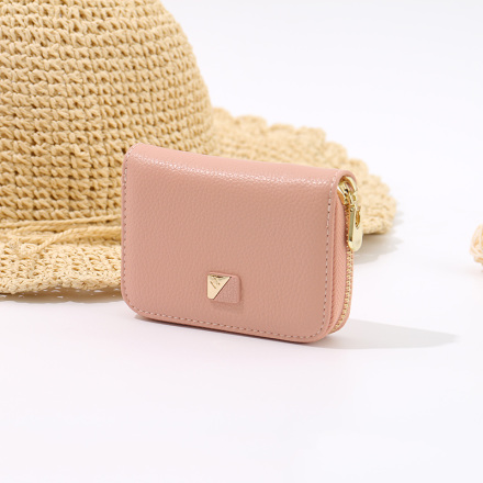 Stylish Vogue Multi-Slot Card Purse for Women (Pink)