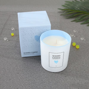 Tempting Heart Aroma Series Scented Candle (Blue)