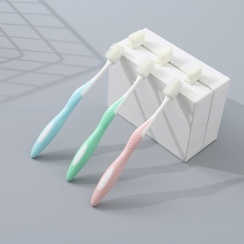 Toothbrush for Children(with 3 Toothbrush Head Replacement)