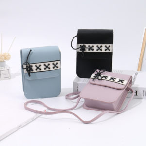 Trendy Bowknot Cell Phone Pouch