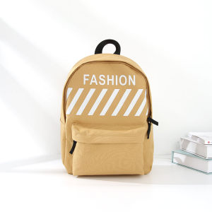 Trendy Vogue Cloth Backpack for Women (Yellow)
