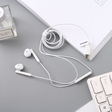 UP24 Type-C Earphones (White)