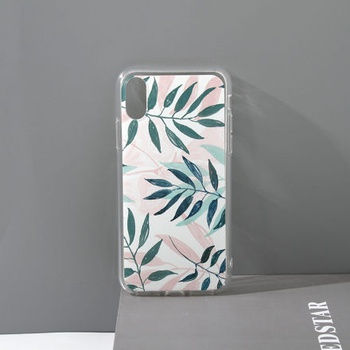 [XVDPMA00195] 3D Printed TPU Cell Phone Case for iPhoneXR (Grass Green)