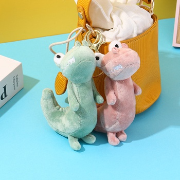 [XVFACC02194] Adorable Dinosaur Plush Doll Charm