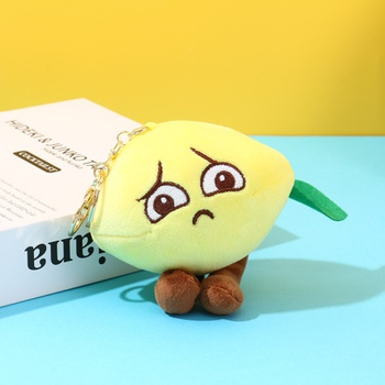 [XVFACC02195] Adorable Lemon Plush Doll Charm