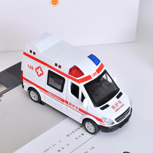 [XVTMT02693] Alloy Ambulance Toy with Sound