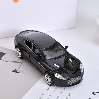 [XVTMT01981] Alloy Car Toy with Sound (Black)