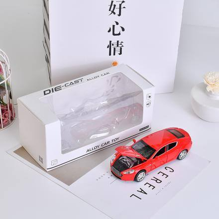 Alloy Car Toy with Sound (Red)
