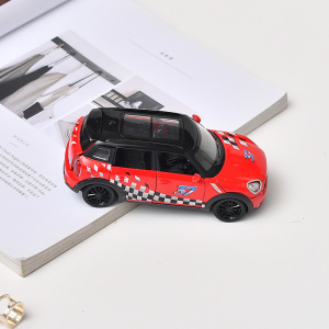[XVTMT02695] Alloy SUV Off-Road Car Toy with Sound (Black and Red)