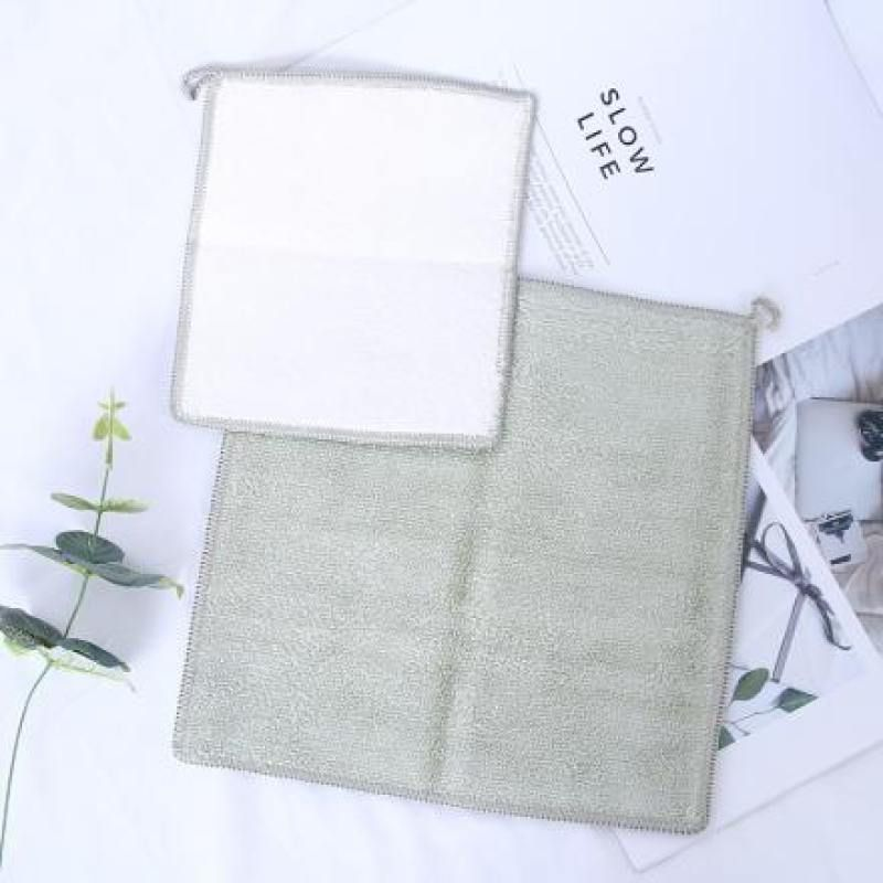 Bamboo Fiber Cleaning Cloth Set