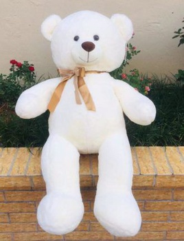 [XVTBO02700] Bear Plush Doll(White)