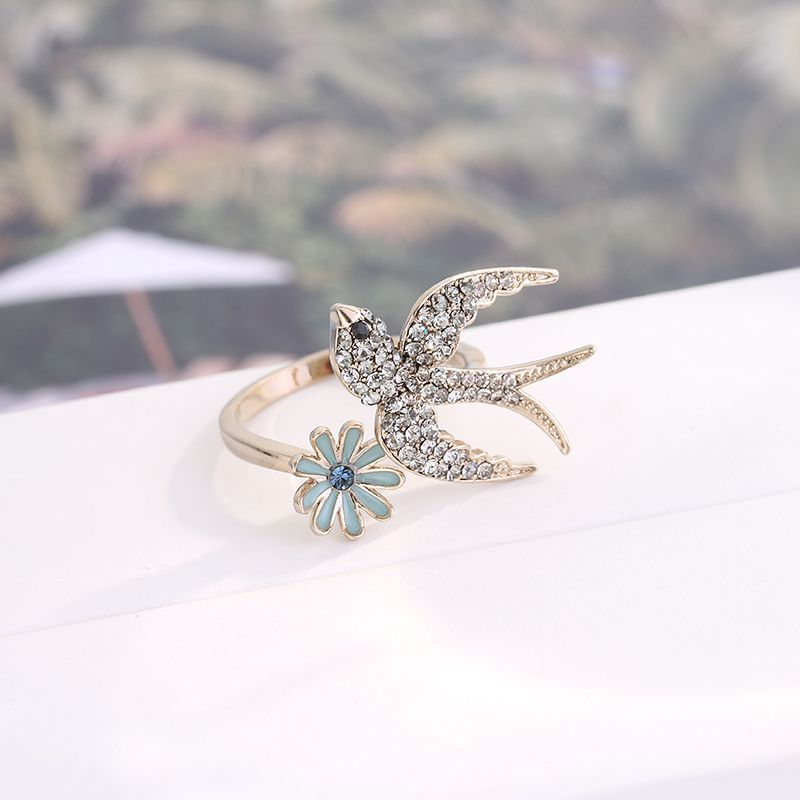 Bird Open Ring