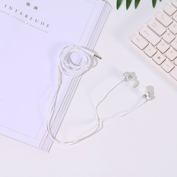 [XVDPA00221] Braided Jacket In-Ear Earphones (Silver)