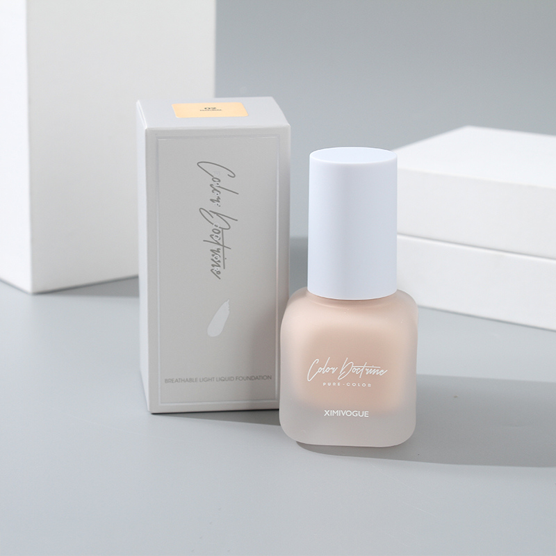 Breathable Light Liquid Foundation (02 Natural)