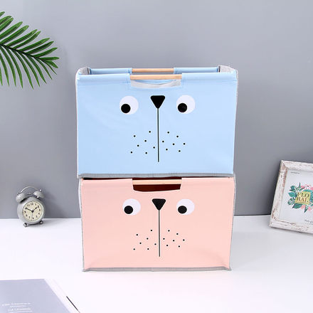 [XVHISP00903] Cartoon Animal Storage Box (Large-Sized)