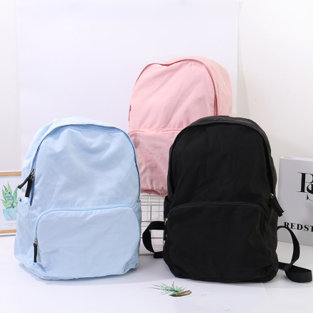 [XVBBP00057] Casual Style Folding Packable Backpack