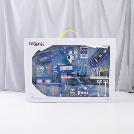 Police Car Toy Gift Set