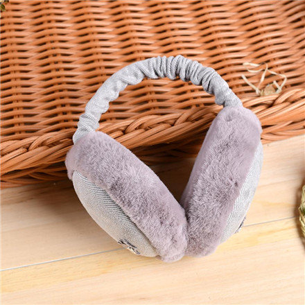 Princess Crown Earmuffs-Gray