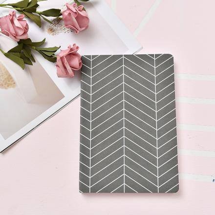 Simple Style PU Business Style Notebook