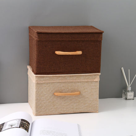 Small-Sized Household Storage Box Container with Handle