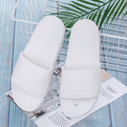 Solid Color Slipper for Women (White)(35/36)