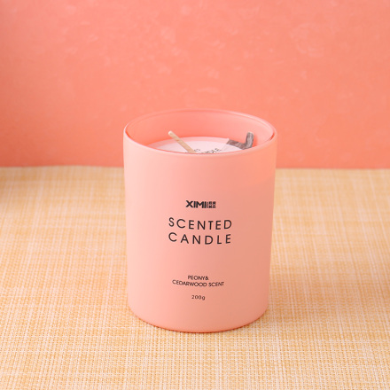 [XVHIF01001] Fantasy Series Scented Candle (Peony&Cedarwood Scent)