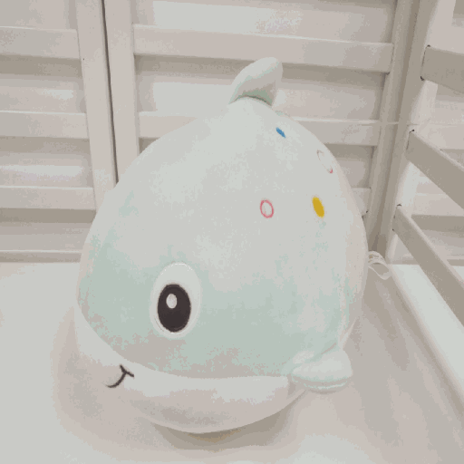 [XVTSPD02081] Happy Fish Plush Doll(Green)