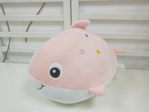 [XVTSPD02082] Happy Fish Plush Doll(Pink)